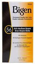 Bigen - Teinture pour cheveux - brun moyen riche 56 - lot de 3