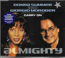 Donna Summer & Giorgio Moroder Carry On CD Single