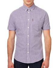 Camisas casuales de hombre de manga corta Ben Sherman