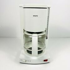 Krups Type 134A 12 Cup Coffee Maker Automatic Drip Filter White Made in Germany