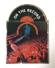 """2013 Panini Beach Boys Trading Cards """"On The Record"""" In Concert Album #9"""