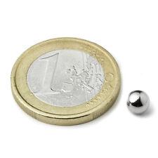 Super Magnete 10 Sfere al Neodimio Diametro 5 mm Potenza 400 gr. K-05-C Sfera