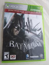 Batman Arkham Asylum + Arkham City Dual Pack (Xbox 360) Signed by Nolan North