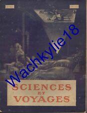Sciences et voyages n°62 04/11/1920 Cinématographie Roumanie Sinaïa Canon ciment