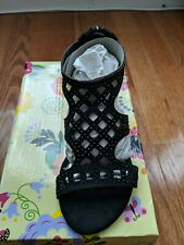 LAURA ASHLEY Black Sandals for Girl Size 12 NWB