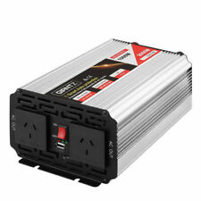 Giantz 1000W/2000W Pure Sine Wave 12V-240V Power Inverter (INVERT-P-1000W-SL)