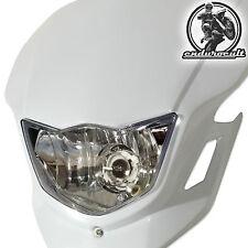 Lampenmaske weiss für Yamaha/Honda/Kawaski (Enduro,Lampe,Scheinwerfer,Maske)