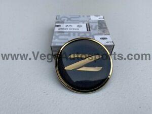 Black & Gold Front Z Emblem to suit Nissan 90-96 300ZX Fairlady Z Z32