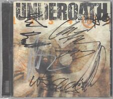 "Underoath ""Act of Depression"" Orig CD Autograph Maylene and the Sons of Disaster"
