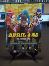 2014 April 9th Official Keeneland April Spring Meet Program - 4th Day of Meet