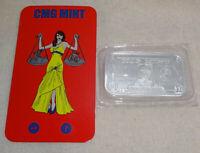 Easy Money CMG Mint Proof Like .999 Silver Art Bar With COA