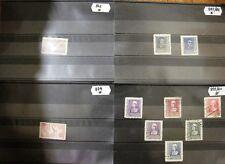 España        **/*/PO/US Conjunto  de fichas con sellos, series y hojas bloque