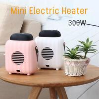 Portable Mini Space Heater Electric Heating Fan Office Home Warmer 300W 220V