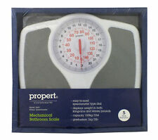 【】Propert 150kg Mechanical Bathroom Scales Speedometer Analogue