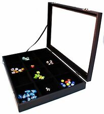Retail Quality Counter Sample/ Jewellery Display Tray with Glass Lid (G225)