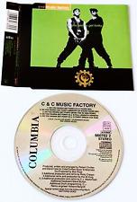 C+C MUSIC FACTORY - Do You Wanna Get Funky (CD Single Pt 1) (VG/EX)