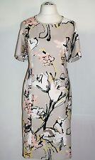 festliches Gerry Weber Etuikleid Gr. 42 Floralprint Kleid Damenkleid Jerseykleid