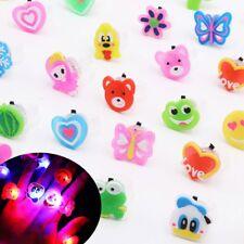 Flash LED Licht Ring Kinder Kostüme Spielzeug Geburtstag Halloween Party_Deko