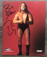 BIG SHOW PAUL WIGHT WCW WWF WWE SIGNED AUTOGRAPHED 8X10 PHOTO