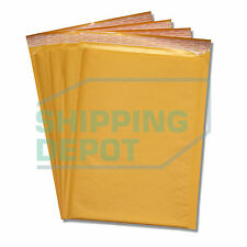 100 #4 Kraft Bubble Mailers 9.5x14.5 Self Seal Padded Envelopes Secure Seal