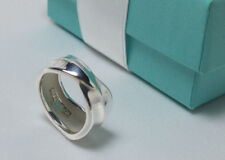 Tiffany & Co Leaf Band Nature Ring Plant Leaves Size 4.5 Sterling Silver 925 NEW