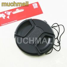 72mm 72 mm Center Pinch Snap On Front Lens Cap Cover for Canon Nikon Sony camera
