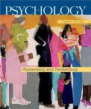 Psychology by Sandra E. Hockenbury and Don Hockenbury (2005, Hardcover)