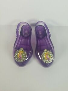 Rapunzel -  Fancy Dress Light Up Shoes Disney Princess