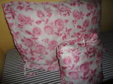 IKEA EMELINA ROS VINTAGE PINK FLORAL ROSES (2PC) TWIN DUVET COMFORTER