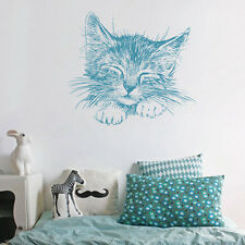ik1733 Wall Decal Sticker kitten small children's bedroom living room