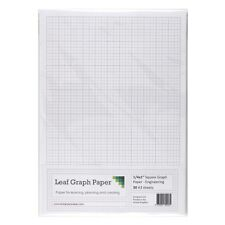 "A3 Graph Paper 1/4 inch 0.25"" Squared Engineering, 30 Loose-Leaf Sheets, Grey"