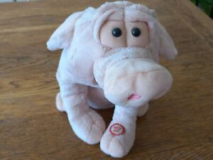 Beverley Hills Teddy Bear Company Vintage Pig Soft Plushy Battery Toy (untested)