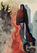 Salvador DALI La Divine Comédie de Dante  Apparition de Dante