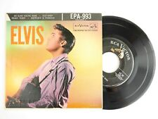 RARE Elvis Presley Elvis Vol 2 EPA 993 Vinyl Record Silver Line 45 EP