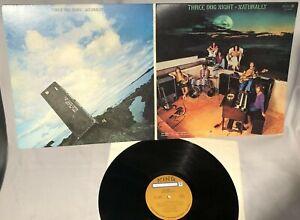 LP THREE DOG NIGHT Naturally w/poster sleeve (ORIG Vinyl, ABC 1970, DSX50088) NM