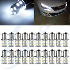 20X 6000K White 1156 BA15S RV Trailer Interior LED Lights Bulbs 13smd 5050 Lamp
