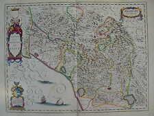 MAPPA REPUBBLICA DI LUCCA 1640 - MASSA CARRARA GARFAGNANA BIENTINA