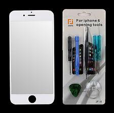 Front Glas Scheibe für Apple iPhone 6 Frontglas Display weiß mit Reparaturset