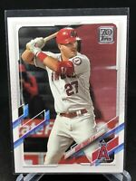 2021 Topps Series 1 MIKE TROUT Los Angeles Angels #27 Base LA
