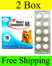 2 Box Heart Somomec  68  PREVENT WORM HEART DISEASE DOGS UP TO 24 LB