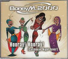 BONEY M. 2000 – Hooray! Hooray! (CD-Maxi) – BMG Musik GmbH – Germany, 1999 – LN