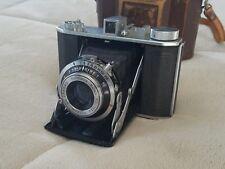 Olympus Six Vintage Japan Folding Camera Leather Case Zuiko US1-3DAYSHIP