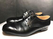 Werner Kern Tanzsport Black Leather Lace Up Ballroom Dance Shoes Men's 10 Wide