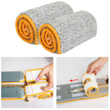 Double Sided Lazy Flat Mop Cloth Replacement Microfiber Home Dust Clean Tools US