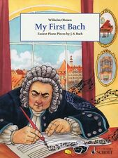 My First Bach Sheet Music Easiest Piano Pieces by J.S. Bach Piano Coll 049044707
