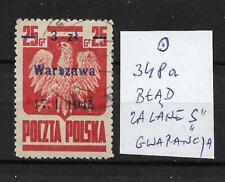 Polska, Poland, Fi. 348a O - Wyzwolenie miast / Gwarancja (k6)