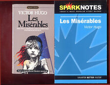 Les Miserables by Victor Hugo & SparkNotes study guide - Free Shipping!