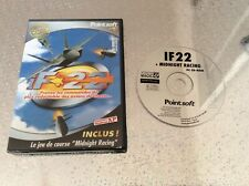 PC If 22 + Midnight Racing Avions Chasse PC CD-ROM PAL FR EN BOITE