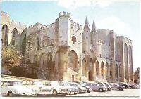 CP 84 Vaucluse - Avignon - Le Palais des Papes - Citroën DS - 2 cv - Peugeot 404