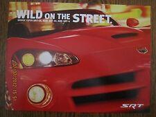 Dodge  Viper  SRT-10   Ram SRT-10  & SRT-4 Sales Brochure
